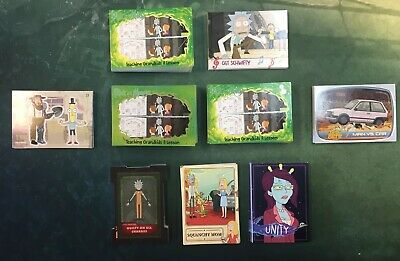 2019 Cryptozoic Rick and Morty Season 2 204 Cards Full Master Set All Parallels