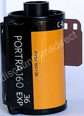1 x Kodak Portra 160 35mm 36 exp. Cheap Colour Print Camera Film  1ST CLASS POST