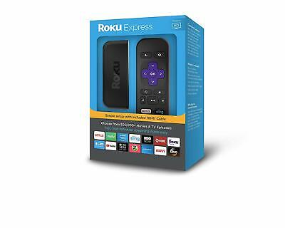 NEW IN BOX!!! Roku Express | Easy High Definition (HD) Streaming Media Player