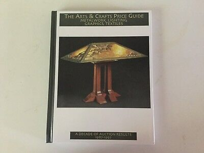 Treadway The Arts & Crafts Price Guide Auction Results 1987-97 hb 1st Ed ExC