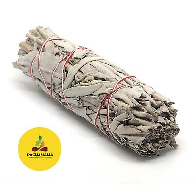 "White Sage Smudge Stick/ Wand 3""-4"" House Cleansing Remove Negativity Ceremonial"