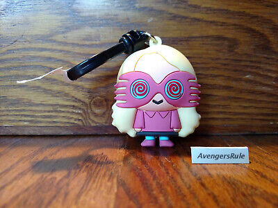 Harry Potter Series 5 Collectors Bag Clip 3 Inch Luna Lovegood