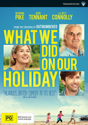 What We Did On Our Holiday (2014) [New Dvd]