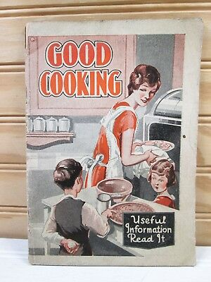 Vtg Antique Dr. Pierce Good Cooking Advertising Booklet Quack Medicine Health