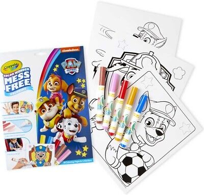 Crayola Paw Patrol Color Wonder Magic Mess Free Colouring Book New Design 2019