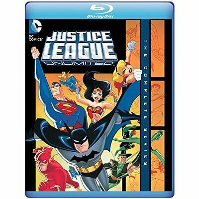 Justice League Unlimited: The Complete Series New Bluray