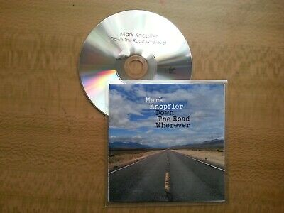 Dire Straits - Mark Knopfler - Down the road whatever (UK 14 TRACK PROMO DJ CD)