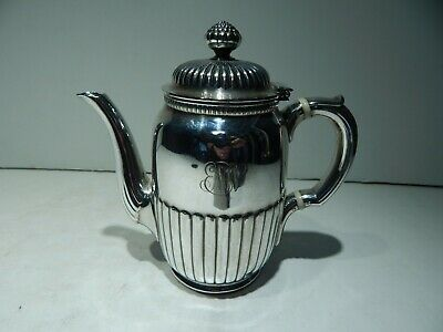 Antique Tiffany & Co. Makers Silver-Soldered Plated Teapot - 2 Cups - Stunning!