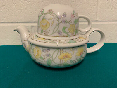 Toscany Fine China Tea For One Teapot And Cup