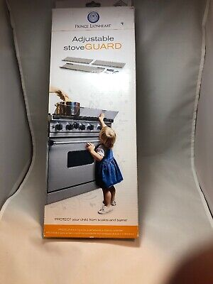 FAST SHIP Prince Lionheart Adjustable Stovetop Oven Stove Child Proof Guard 0089