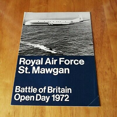 Royal Air Force St Mawgan - Battle Of Britain Open Day 1972 (magazine)