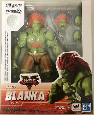 S.H. Figuarts Blanka Street Fighter Bandai  Action Figure NEW IN STOCK USA