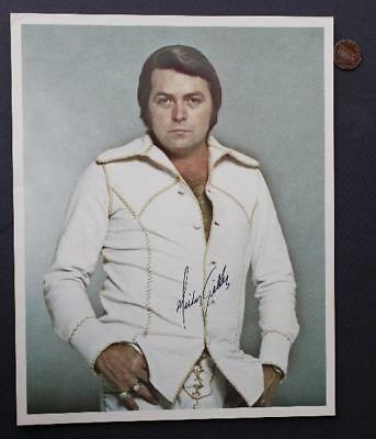 Country Music Star & Nightclub Owner Mickey Gilley signed/autographed photo!*