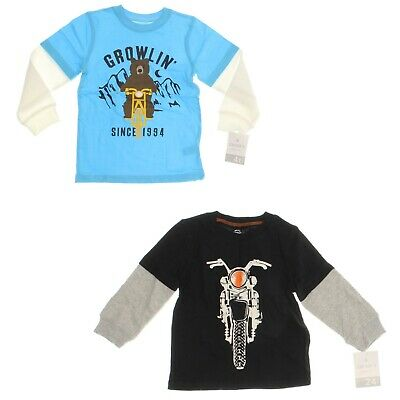 Carter's Boys' Layered Look Long Sleeve T-Shirt - Select a size/color