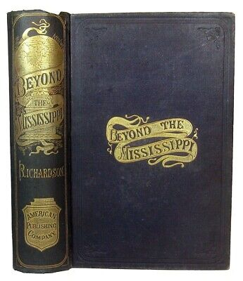 Rare Old West Indian Pioneer Tourist Guide Railroad Massacre Gold Rush Civil War