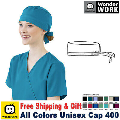 WonderWink WONDERWORK Unisex Medical Solid Scrub Cap_400