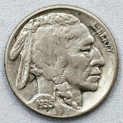1935-S Buffalo Nickel - Extremely Fine - 5c Copper-Nickel