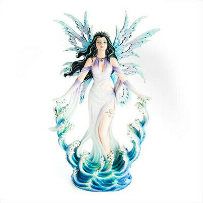 NEW Ocean Fairy on Waves Home Decoration Highly Detailed Figurine Collection