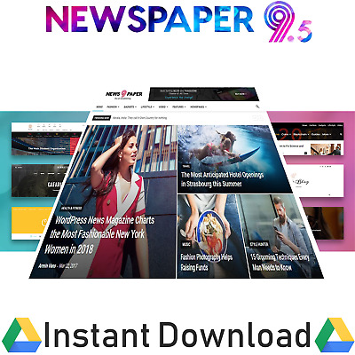 Newspaper Wordpress Theme with All Plugins And Liftime Updates