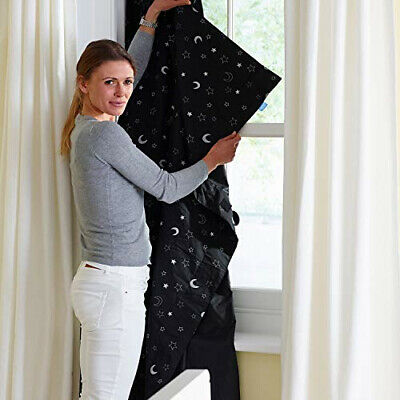 Gro Company Anywhere Blackout Blind Kids Travel Holiday Sleep Curtains