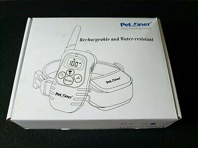 Pet Dog Training Collar Peteast Remote Rechargeable Waterproof Beep Trainer NEW