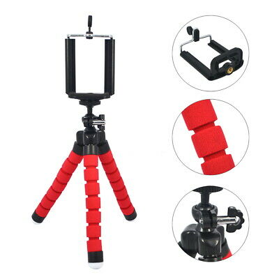 Flexible Sponge Tripod Octopus Tripod Stand Mount Phone Holder for Smartphone