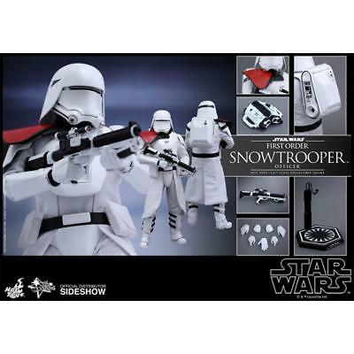 Hot Toys 1/6 Star Wars Mms322 First Order Snowtroopers Officer Action Figure