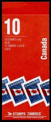 Canada 1361a Booklet BK177b MNH Flag, Office Building