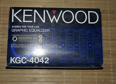 Kenwood KGC 4042 • NEW • NOS • Vintage Car HiFi • KGC4042 • New Old Stock EQ