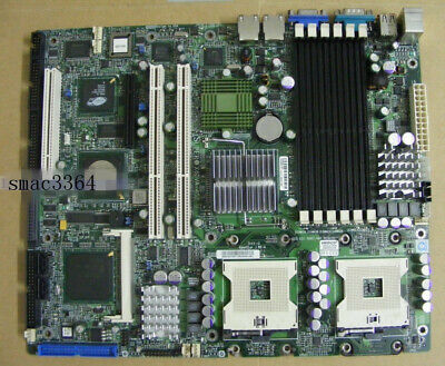 1PC supermicro X6DVA-4G2 800 FSB DDR2 Dual Server Board