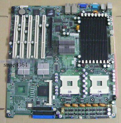 1PC Supermicro X6DHE-XG2 E7520 chip 800 FSB server workstation motherboard DDR2