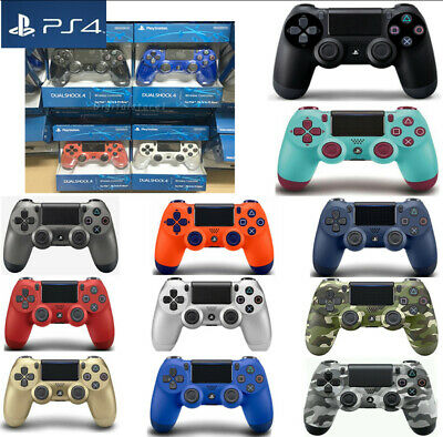 Uk Official Sony Ps4 Dualshock 4 Wireless Controller - New & Sealed Multi Color