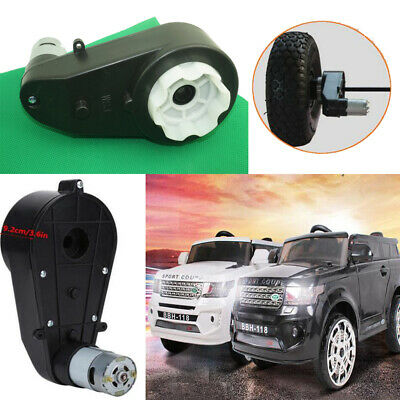 1000-30000 RPM Electric Drive Motor Gear Box Kids Ride On Bike Car Toys 12V / 6V