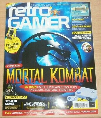 Retro Gamer magazine #193 2019 Mortal Kombat + Lemmings Virtua Cop, Casio Loopy