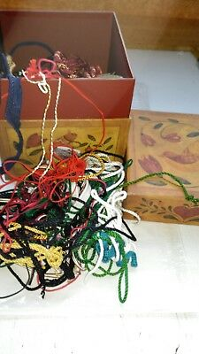 """STASH"" of ASSORTED CORDS for CRAFTWORK"