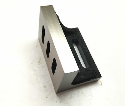 """New Angle Plate 3""""x 2"""" x 2.5"""" (75 x 50 x 63 mm) -Machined Clean Slots-Lathe,Mill"""