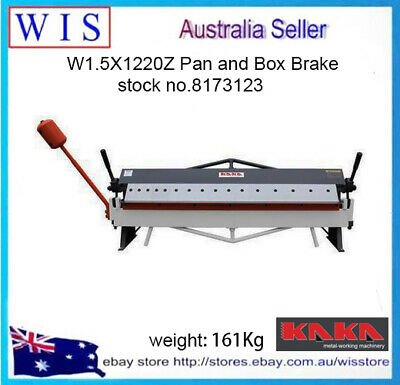W1.5X1220Z 1220mm Pan and Box Brake, Bending Machine-8173123