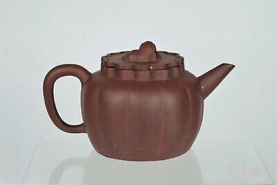 Lovely Collectable Antique Chinese Yixing Clay Teapot - with mark