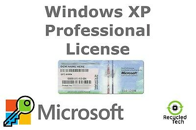 Windows XP Professional Activation Key