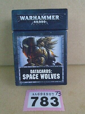 DATACARDS: SPACE WOLVES 8th Edition - Games Workshop