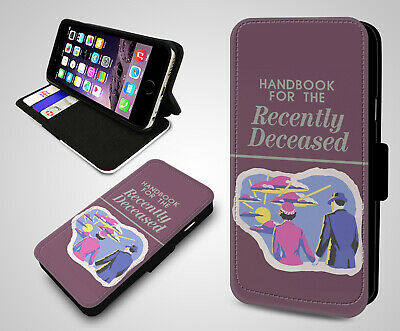 Handbook for the Recently Deceased Book James Hunt Flip Leather Phone Case Cover