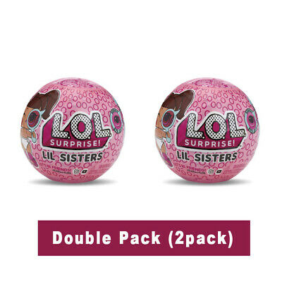 L.O.L. Surprise Lil Sisters Ball Eye Spy Series Double pack (2pcs) LOL Surprise