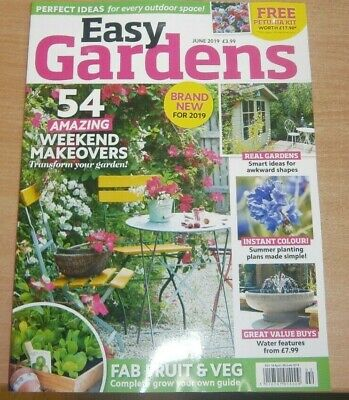 Easy Gardens magazine Jun 2019 54 Weekend makeovers + Fab Fruit & Veg & more