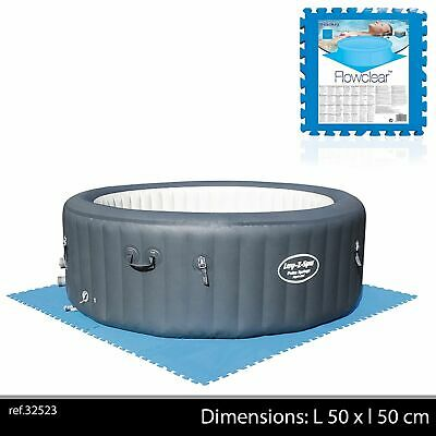 Lay-Z-Spa Floor Protector Tiles Under Hot Tub Ground Insulation Support Accessor