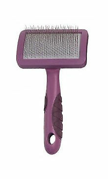 Rosewood Soft Protection Pet Slicker Gromming Tool Shedding Matted Hair 07659
