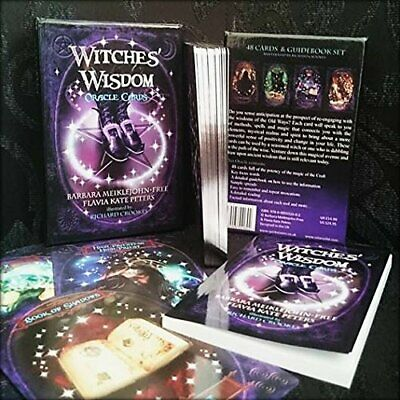 Witches Wisdom Oracle Cards  - Magic Mystic Pagan  - Future Teller