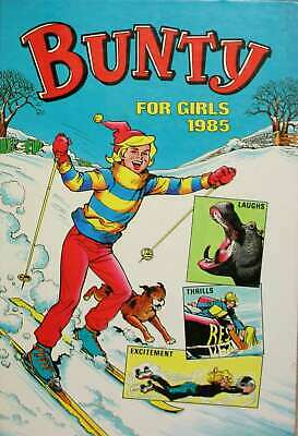 , Bunty for Girls 1985 Annual, Hardcover, Very Good Book