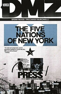 DMZ TPB Vol 12 The Five Nations Of New York Brian Wood, Riccardo Burchielli NEW