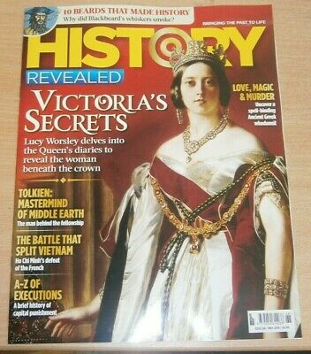 History Revealed magazine #68 May 2019 Queen Victoria's Diaries + Tolkien & more