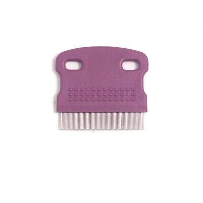 Rosewood Soft Protection Salon Grooming Mini Flea Comb Brush Removes Nits 07504